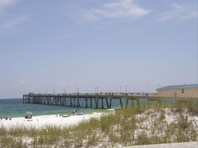 Try your skill at the Okaloosa Island Fishing Pier