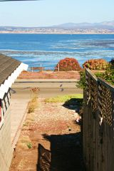 Pacific Grove house photo - Private walkway from rear yard directly to ocean front. 50 yds to the ocean!