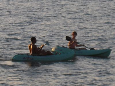 Sea Kayaks - Fun!