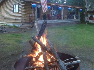 Big Lake cabin photo - Bring big marshmallows.....