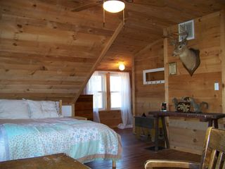 Lost River farmhouse photo - Large Master Bedroom