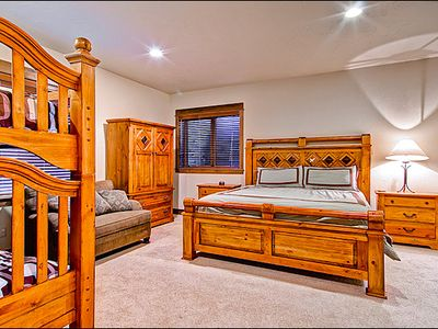 Sixth Bedroom with King and Bunk Bed