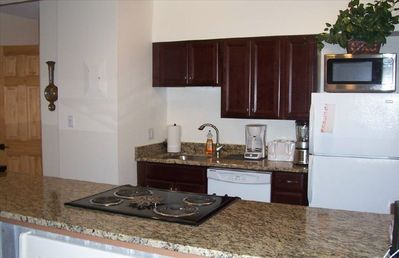 Kitchen is fully equipped with everything you would need!