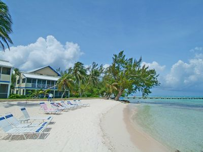 Grand Cayman condo rental - Retreat at Rum Point - Beach (25 steps away)