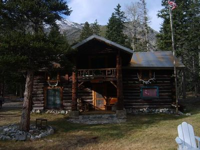 montana east rosebud lake rustic log cabin vacation rental