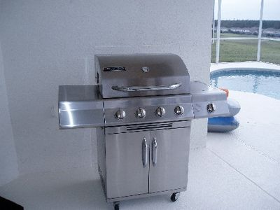 Highlands Reserve villa rental - Gas BBQ