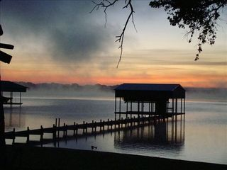 Eagle Mountain Lake house photo - Another glorious sunrise at 'your' dock!
