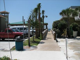 Caribbean Dunes condo photo - Convenient beach access just a few steps away from your condo