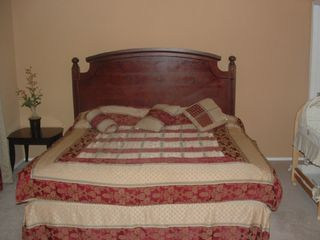 San Antonio house photo - King bed & bassinet