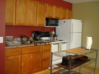 Kihei condo photo - Kitchen in main room in the 2 bed 2 bath unit.