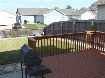 Loveland house rental - BACKYARD & BBQ