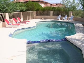 Goodyear house photo - awesome private pool and spa w/fantastic views mountains/stars