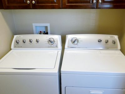 Private Washer and Dryer in your home.