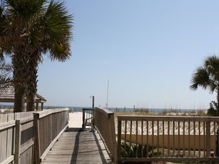 Gulf Shores condo photo - Beach Boardwalk and Shower