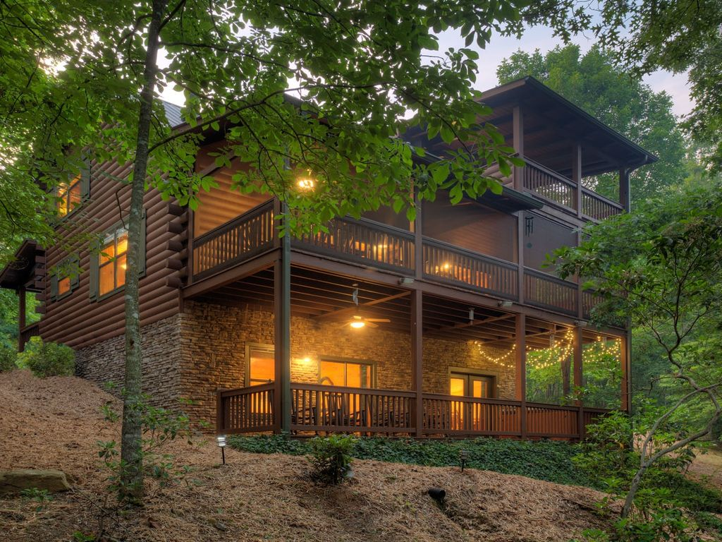 cabins ridge ga rent georgia lodge rental star res in high for cabin shooting rentals blue