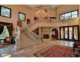Tampa house photo - Solid Stone 12' Wide Helical Staircase