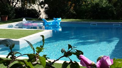 Spacious villa and swimming pool (GdF 4 ears) to 35 'of Toulouse, Albi and Cordes