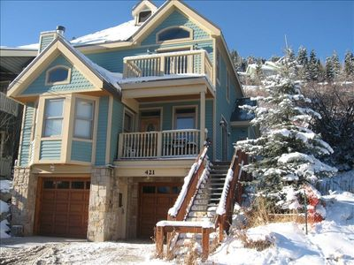 Old Town house rental - Park City's BEST location!!! Ski-in/Out access and two staircases to Main Street