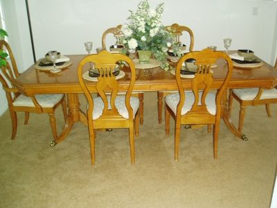 For formal dining