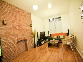 Midtown Manhattan property rental photo - Large Living Room 42 inch Flat scn TV Queen size Sofa bed