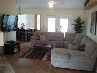"Glendale house photo - Large Comfortable Couch, 55"" HDTV, Kitchen Dining Table."