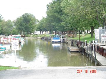 Memory Marina on the Sandusky River