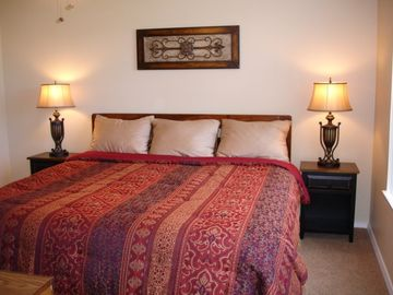 A King Size Bed Gives Added Comfort!