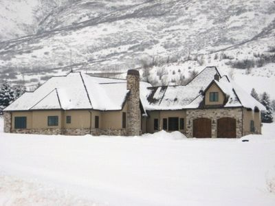 Winter 2012 / 2013 Midway Utah Pervenche Luxury Vacation Rental