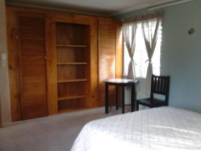 Spacious and beautifully crafted closet and small room dining table