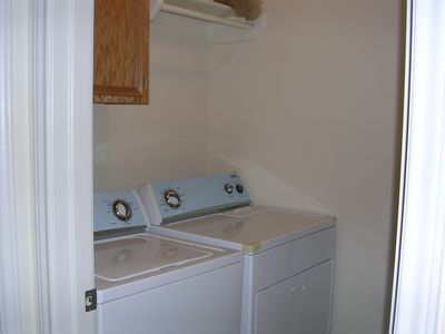 In-house laundry room