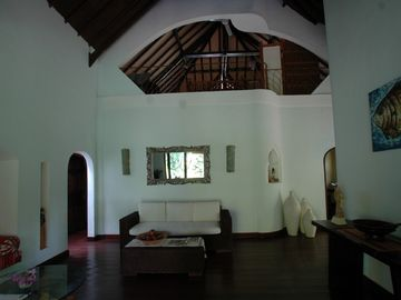 reception and attic room above