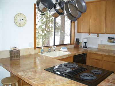 Well Stocked Kitchen w/newer stove and oven, newer fridg, newer dishwasher