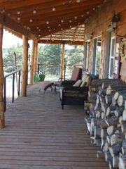 Miles City cabin photo - live blue grass band last summer