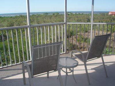View from Balcony, Overlooks a Preserve and Charlotte Harbor