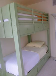 second bedroom - twin bunk beds