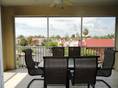 Screened lanai/Balcony