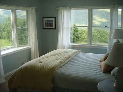2nd Floor  King Size Guest Bed Room with Green Mountain Views