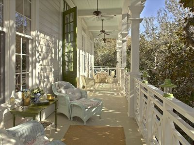 Beautiful balconies for relaxing outdoors!