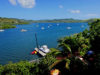 Culebra villa photo - Pelicano Oceanfront ample Terraces & Dock Facilities, Kayaks, 4,500 sq.ft. +