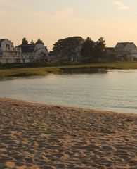 Bourne cottage photo - Gray Gables Beach at sun down.