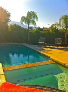 Beautiful Pool & Spa are situated in Front Courtyard, Unobstructed Mountain View