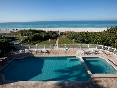 Holmes Beach condo rental - Pool and Beach from your Balcony