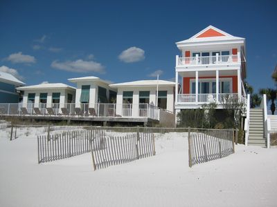 Carillon Beach house rental - Fairview cottage RIGHT ON THE BEACH & RIGHT NEXT DOOR to gulf front pool complex