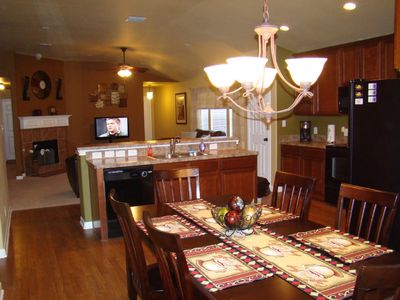 San Antonio house rental - Open Kitchen Area, Flows into Living Room Area