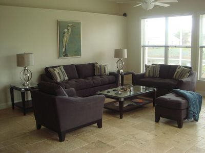 Villa White Ibis - family room