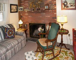 West Stockbridge farmhouse photo - Fireplace