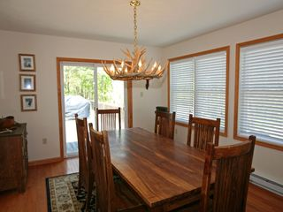 Towamensing Trails chalet photo - Dining Room with Seating for 6-8