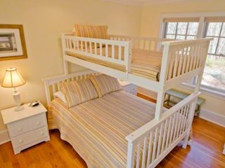 Vineyard Haven house photo - Bedroom Suite #4 - Bunk With Full & Twin Beds, Shared Bath. Second Floor