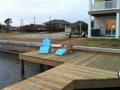 Dock/deck area