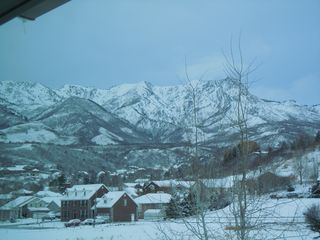 Snowbasin townhome photo - View from Brown Wood Bedroom